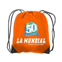 bolsa de mochila con cordón de impresión personalizada