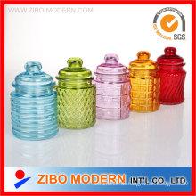 Mini Glass Candy Jar
