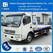 2018 Dongfeng 4x2 Road Wrecker Truck / samll camión de auxilio camión de remolque / remolcador con grúa