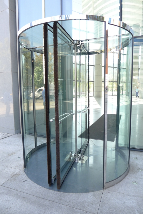 Force-sensitive Leafs for Ningbo GDoor All Glass Revolving Doors