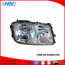 Head Lamp 9438201561 Truck Parts For Mercedes Spare Parts