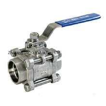 3 PC Socket Weld Ball Valve