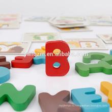 Амазонка горячая распродажа educaltion цвет деревянные животные 3D головоломки