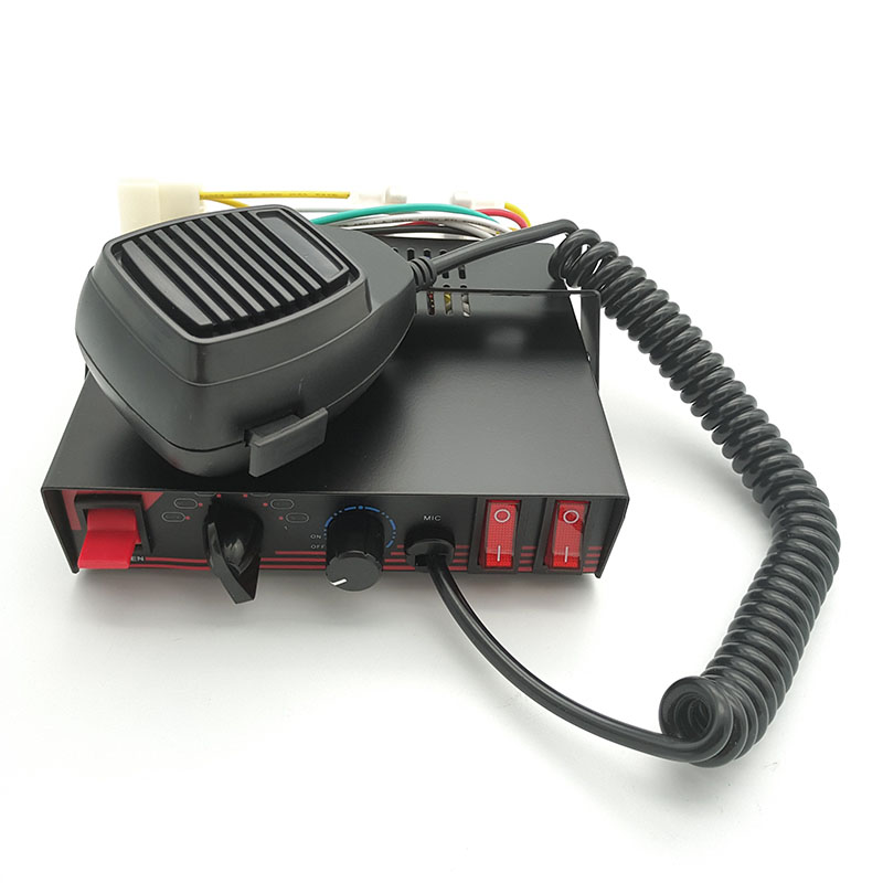 emergency electronic siren amplifier