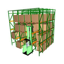Heavy Duty Drive in Rack Forklift Rack Cold Warehouse Drive-in Pallet Rack