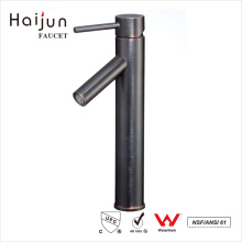 Haijun High Quality Ornate 0.1~1.6MPa Deck Mounted Single Handle Basin Faucet