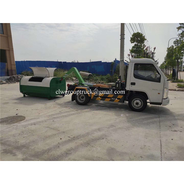 Hydraulic Arm Hook Lifter Garbage Truck for sales