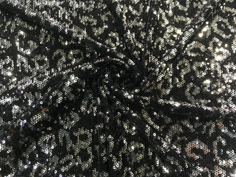 Geometry Sequin Embroidery Fabric