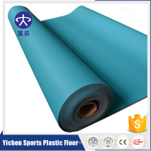 Sports plastic durable pvc badminton flooring mat roll