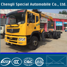 6x4 caminhão LHD direção tipo caminhão de carga com guindaste