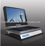 acrylic countertop display stand for PC or laptop computer
