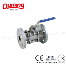 3PC Flanged Ball Valve with Lock