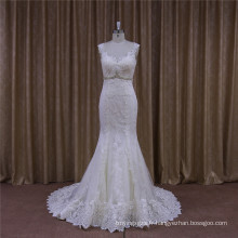 Real Image Mermaid robes de mariée 2016