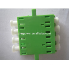 LC/APC fiber optic adapter singlemode duplex square adapter accepted OEM made in China