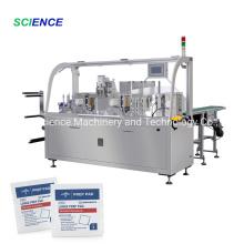 Máquina automática para fabricar hisopos con alcohol