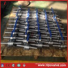 Geschmiedete Stahl-Gewinde-Kugelhahn mit Verlängerungsrohr