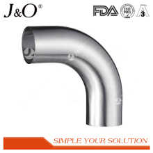 Sanitary Stainless Steel 90 Degree Weld Elbow with Straight Ends