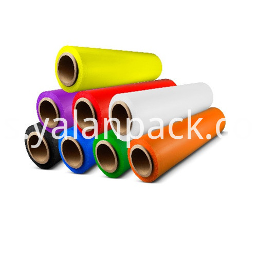 colored stretch film