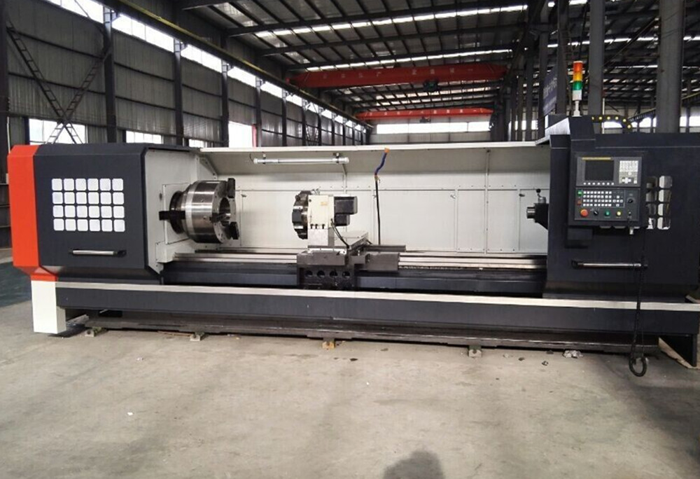 CNC Pipe Thread Lathe with Fanuc Controller