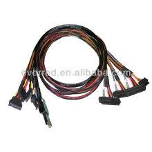 Customized SFF-8088 to SFF-8482 SAS CABLE(ERC387)