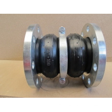 Double Sphere Flange Rubber Joint with Root Ring
