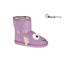 Kids New Arrival Suede Snow Boots Lovely Lamb