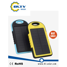 Outdoor Waterproof Solar Mobile Power Bank Charger 4000mAh