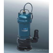 Série de pompes d'eaux usées submersibles (WQD10-11-0.75)