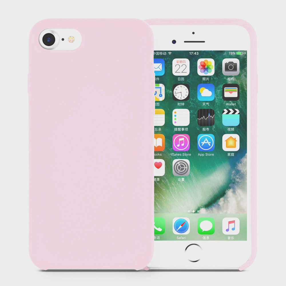 rose silicone iphone cover