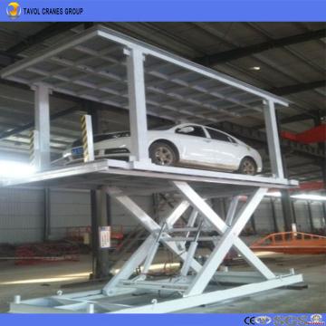3 Ton Stationary Type Hydraulic Scissor Car Lift