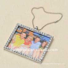 Mini decorativo de diamantes de imitación colgante marcos para fotos pequeñas