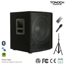 12 Inches Subwoofer Wooden Speaker System with PA System