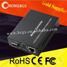 Convertisseur de fibre vers rj45 Convertisseur de média sfp sc Connecteur 10/100/1000