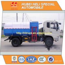 NEU DONGFENG 4x2 12CBM Selbstladung Müllwagen Seite Ladung Diesel Motor 190hp