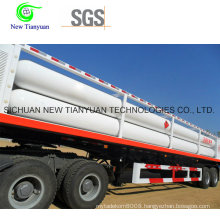 11-Tube Cascade Skid Container Semi Trailer