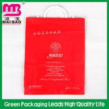 Hohe Qualität pe Gabel Ohr Kunststoffverpackungen Taschen für Kleidungsstück