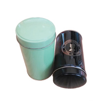Round Canddy Coffee Black Tin Packaging