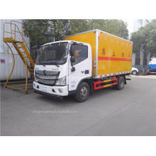 Venda caminhão de transporte explosivo Foton 4x2