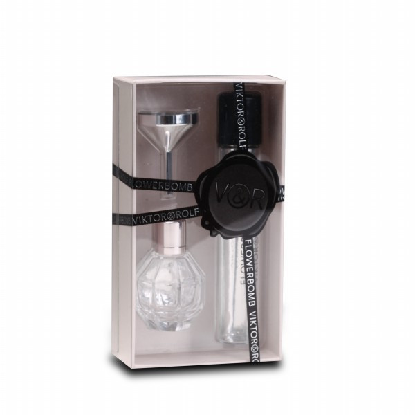 Visisble Design Sleeve Perfume Box con Base