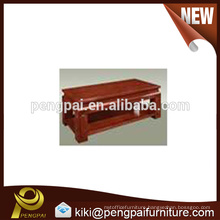 China antique wood low coffee table design wholesale