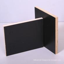 Filme de alta qualidade preto enfrentou a madeira compensada para cofragem de concreto