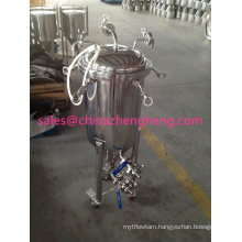 Stainless Steel Cooling Jacket Beer Fermentation Tank