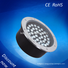 3year warranty 36W led underground light IP65 degree waterproof led buried lights