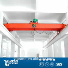 Double Beam Steel Factory Overhead Crane With Lifting Spreader