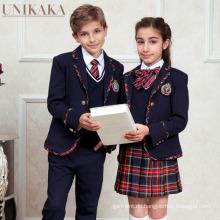 Custom Casual School Blazer Uniformen für Grundschule