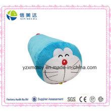 Плюшевые Doraemon цилиндрические подушки Фаршированные мультфильм игрушки