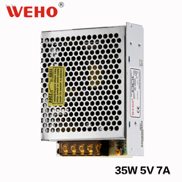 Fonte de alimentação de WEHO única saída 35W 5V