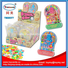 Small Plastic Pinball Game Toy with Candy
