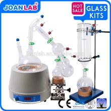 Équipement de distillation de voie courte JOAN, ensemble de distillation à courte trajectoire de 2000 ml