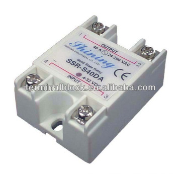SSR-S40DA Dc to Ac SSR Solid State Relay With Protective Cover